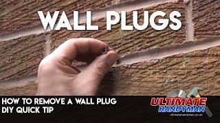 Removing a wall plug