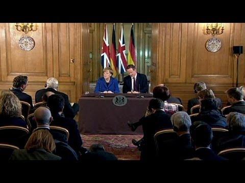 Angela Merkel : l'Europe doit s'ajuster et Londres doit y demeurer