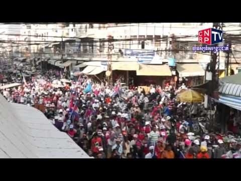 CNRP TV Khmer News on December 28, 2013