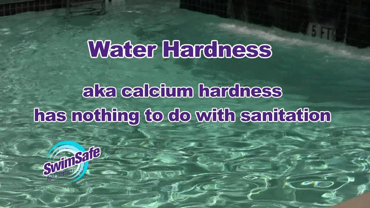 Alkalinity And Water Hardness In Your Pool Youtube