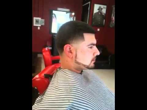 haircut: Taper/beard by Danny da barber - YouTube