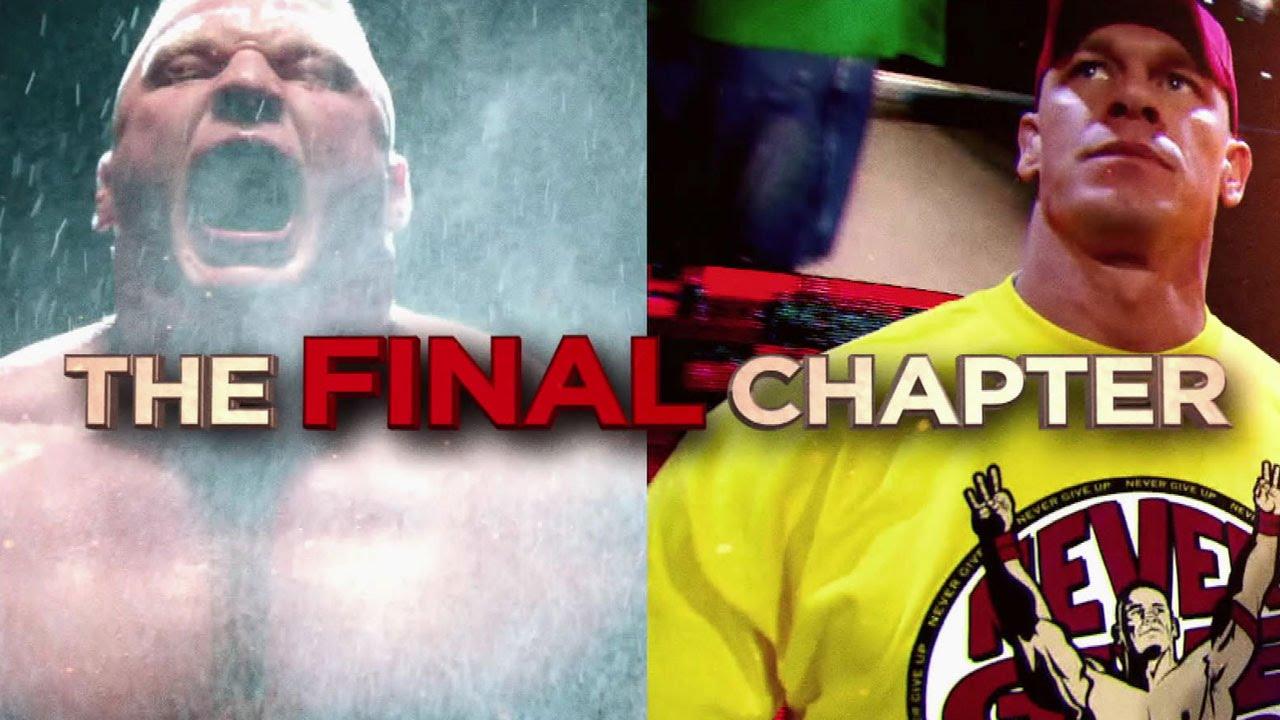 brock lesnar vs john cena final battle royal rumble promo new