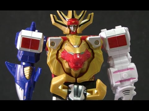đồ chơi siêu nhân gao 파워레인저 정글포스 미니 정글킹 로봇 변신 장난감 Gao Rangers Toys