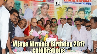 Vijaya Nirmala Birthday 2017 Celebrations