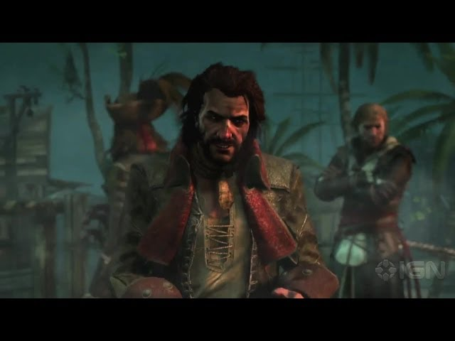 Assassin's Creed 4: Pirate Heist Trailer