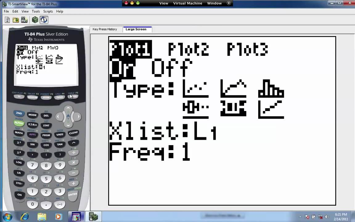 Create a Box and Whisker Plot on the TI 83/84 Calculator - YouTube