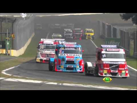 Muffato and Rodrigues Big Crash @ 2014 Formula Truck Interlagos
