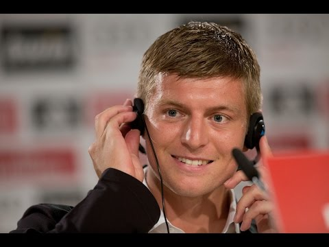 Erste Pressekonferenz von Toni Kroos in Madrid: