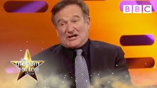 Robin Williams on The Graham Norton Show - BBC Two