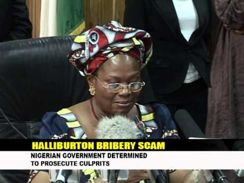 contract halibuton govt scandal