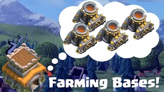 Clash Of Clans Town Hall 8 Farming Base Layouts For Four