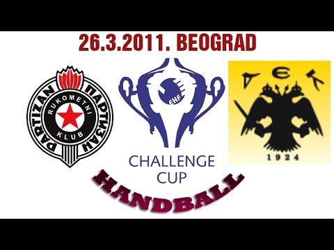 RK Partizan – HC AEK (26.03.2011. Challenge cup)