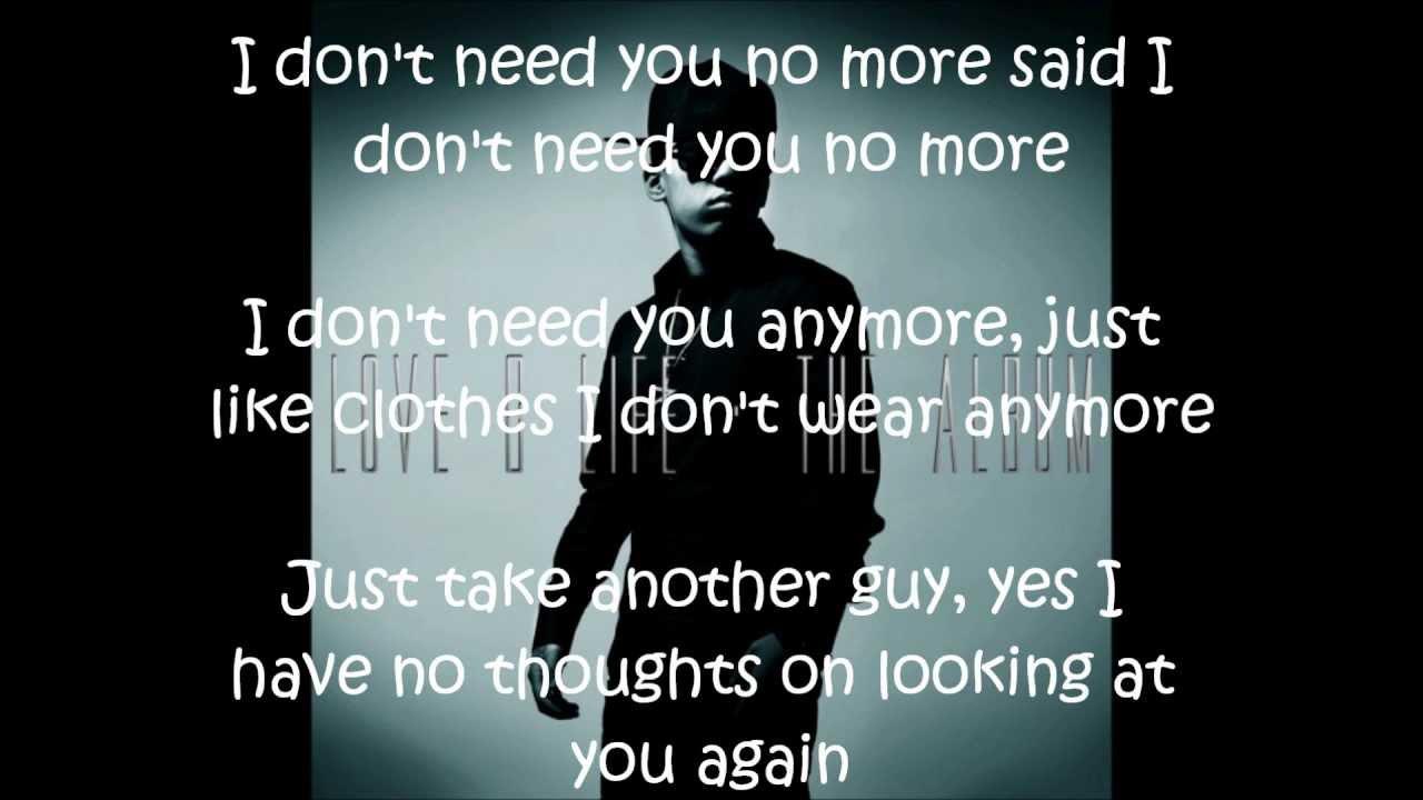 you leave me alone lyrics: