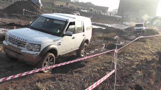 Land Rover Discovery 4 In Offroad 4x4 Trial A Lonato 15/01