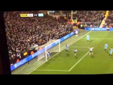 Vincent Kompany Own Goal v Fulham FC