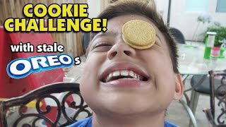 Playing with Stale OREOS! COOKIE CHALLENGE!