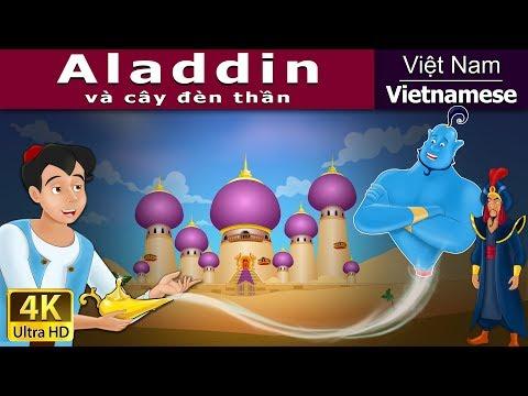 Aladdin và cây đèn thần - Chuyện cổ tích - Chuyện kể đêm khuya - 4K UHD - Vietnamese Fairy Tales