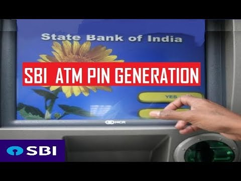 sbi atm Sbi green pin process helps you to generate the pin or change the atm pin if the sbi atm pin not received after applying for a new atm card or savings account (generate the atm pin for the first time use), even if you are not present in your state bank of india registered postal address.