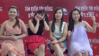 Vietnam&#39s Got Talent 2014 - Hậu trường - Trả lời phỏng vấn theo phong cách...độc cầm