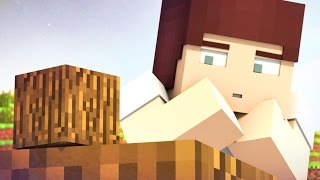 Getting Wood (Minecraft Animation)