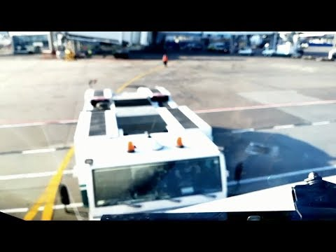 Funny Time-lapse LONG PUSH BACK AT MOSCOW AIRPORT & TAKE OFF, GREAT BACK GROUND MUSIC
