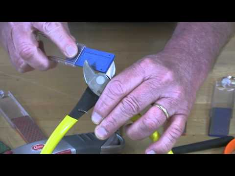 Video of Diamond Mini-Sharp® Sharpener – Sharpening Wire Snips