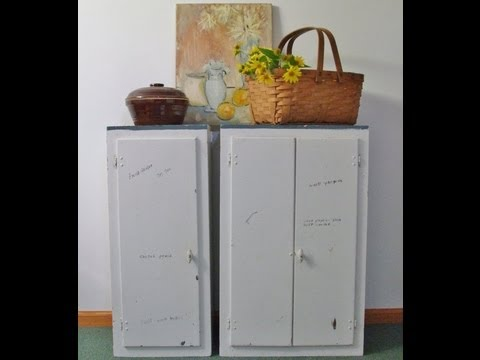 Vintage 1920s Kitchen Maid Kitchen Cabinets Cupboards For Sale On Etsy YouTube