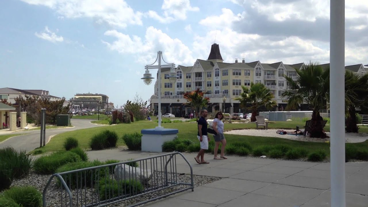 ocean place at long branch beach nj youtube. Black Bedroom Furniture Sets. Home Design Ideas