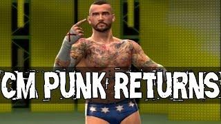 WWE 2K14: CM PUNK Returns Story Mode