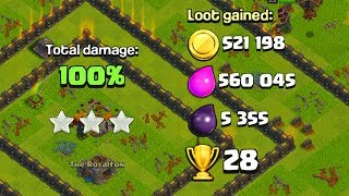 THIS ATTACK IS WAY TOO STRONG TH9 Dark Elixir Time | Clash of Clans