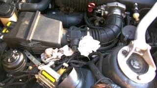 Холодный пуск двигателя M50TUB20 при -10 градусах