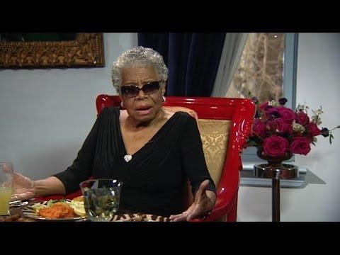 Maya Angelou - Magazine cover
