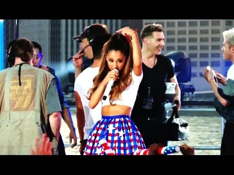 Ariana Grande Sexy 4th Of July Show Rehearsal