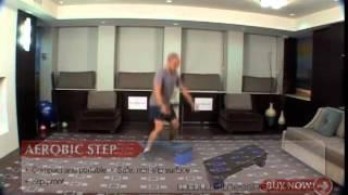 Aerobic Step -- Step Jump Ups - Lateral - Fitness Republic