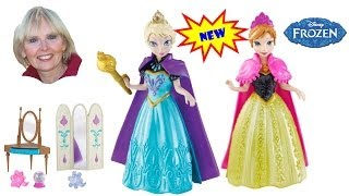 Anna And Elsa Frozen Magiclip Doll Giftsets