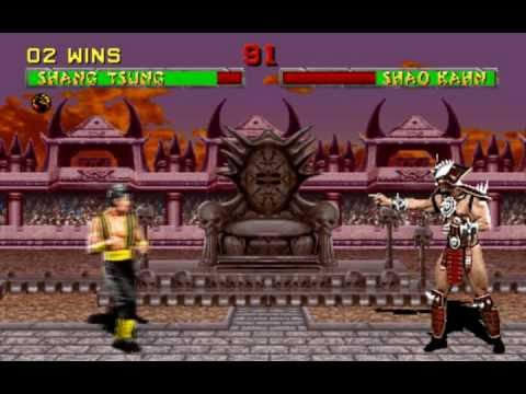 Mortal Kombat 2 - Shang Tsung Arcade playthrough