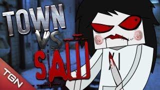 MINECRAFT: TOWN VS SAW