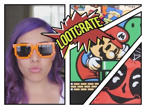 June Lootcrate 2013 w/ Cupquake Unboxing