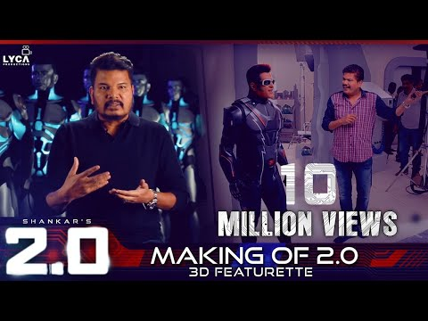 Making of Robo 2.0 - 3D Featurette