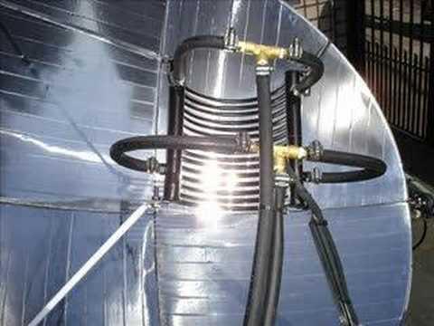 Concentrador de Energia Solar - Here Comes the Sun