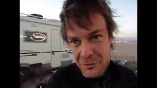 intervista a Luca Viglio all'arrivo a Calama   13 gennaio 2014