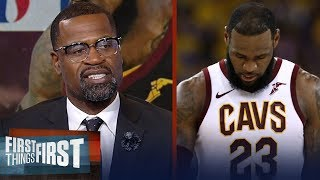 Stephen Jackson on LeBron's 2018 Finals vs those of MJ and Kobe | NBA | FIRST THINGS FIRST