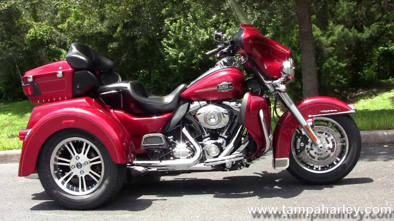 New 2013 Harley Davidson Flhtcutg Tri Glide 3 Wheeler