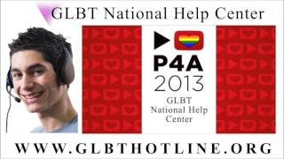 Project for Awesome 2013 GLBT National Help Center