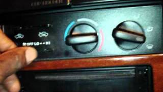 1998 Toyota 4Runner Limited Radio Removal