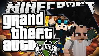 Minecraft | Grand Theft Auto (GTA) | STEALING A STEALTH BOMBER | Mods Showcase [Funny Moments]