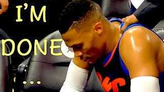 "NBA ""I'm Done"" Moments"