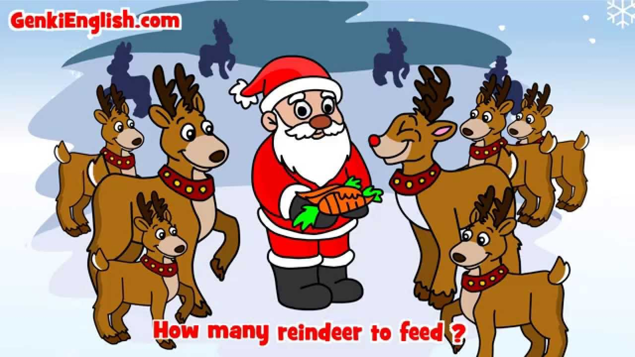 How many days till Christmas? Song GenkiEnglish.com - YouTube