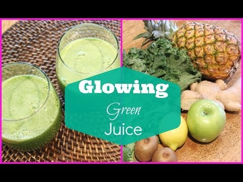 ♥ Green Juice Recipe for Weight Loss and Glowing Skin | Detox Green Juice ♥