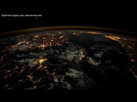 Stunning Earth From Space Time Lapse Video: The UK To Asia ISS images with Twixtor